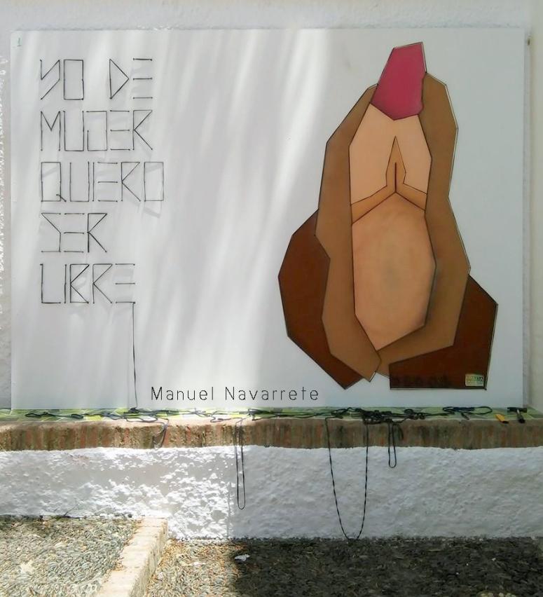 yo de mujer quiero ser libre Casares Malaga Manuel navarrete lopez arte.jpg